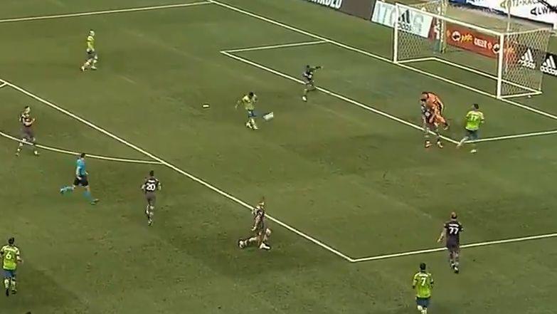 Así fue el primer tanto de Ruidíaz en el Seattle Sounders vs. Minnesota United.