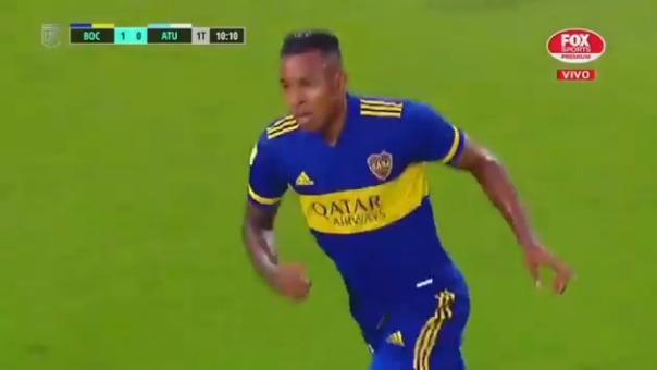 Sebastián Villa marcó el 2-0 ante Tucumán