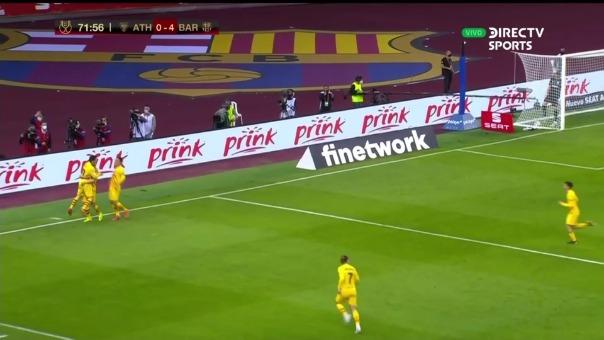 ASí fue el segundo gol de Lionel Messi en la victoria del Barcelona ante Athletic Club por la Copa del Rey