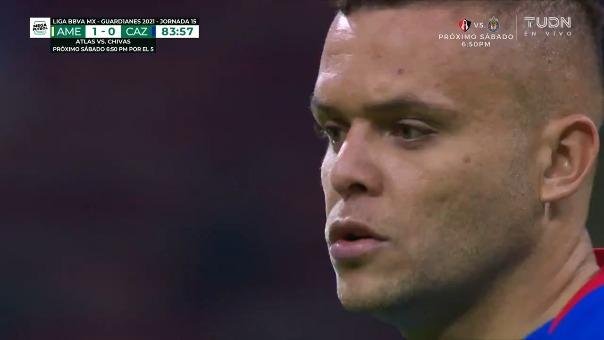 Cruz Azul 1-1 América: así fue el gol de Jonathan Rodríguez