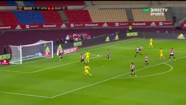 ¡Toque sutil! Griezmann anotó el 1-0 ante Athletic Club por la final de la Copa del Rey