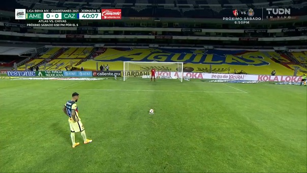 Así fue el gol de  Emanuel Aguilera del América