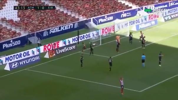 Segundo gol de Correa