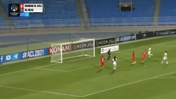 Gol de André Carrillo