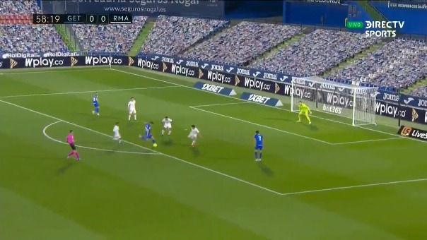 Real Madrid vs. Getafe.