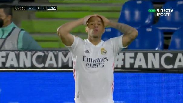 Mariano Díaz anotó pero...
