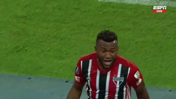 Sporting Cristal 0-1 Sao Paulo: así fue el gol de Luan