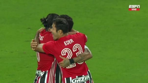 Sporting Cristal 0-2 Sao Paulo: así fue el gol de Benitez