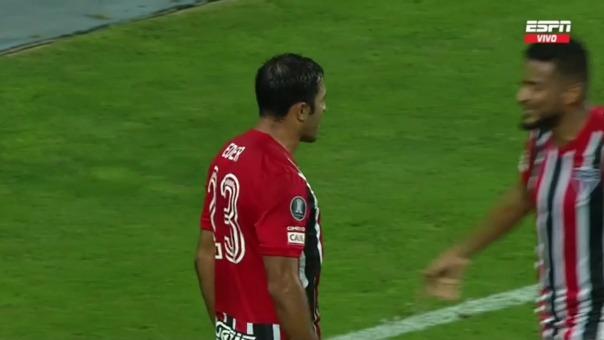 Sporting Cristal 0-3 Sao Paulo: Eder marcó el tercer gol en el Nacional