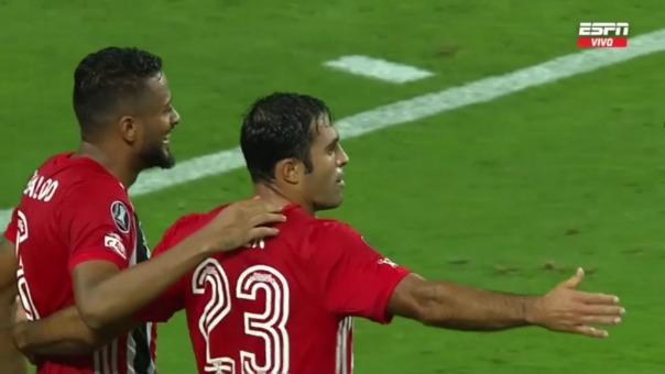 Sporting Cristal 0-3 Sao Paulo: así fue el gol de Eder