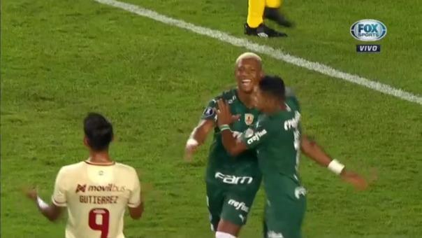 Universitario 0-1 Palmeiras: así fue el gol de Danilo
