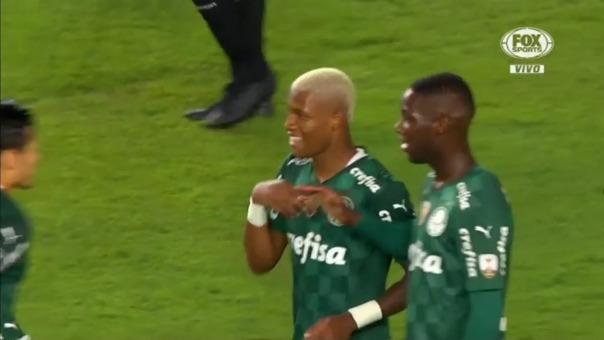 Universitario vs Palmeiras: así fue el gol de Danilo