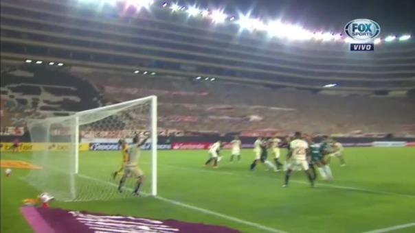 Palmeiras venció 3-2 a Universitario