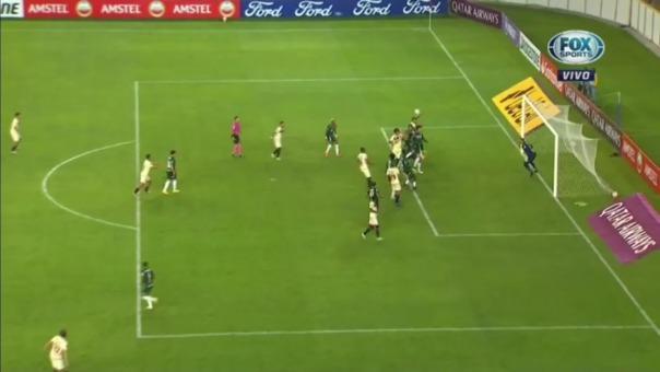 Universitario vs Palmeiras: así fue el primer gol de Enzo Gutiérrez