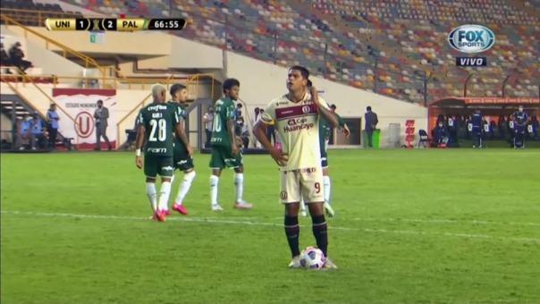 Universitario 2-2 Palmeiras: así fue el segundo gol de Enzo Gutiérrez