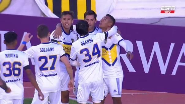 The Strongest 0-1 Boca Juniors: así fue el gol de Sebastián Villa