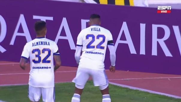 The Strongest0-1 Boca Juniors: así fue el gol de Sebastián Villa