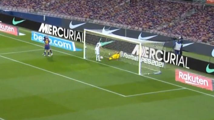 Este fue el 2-1 del Barcelona ante el Getafe en Camp Nou.