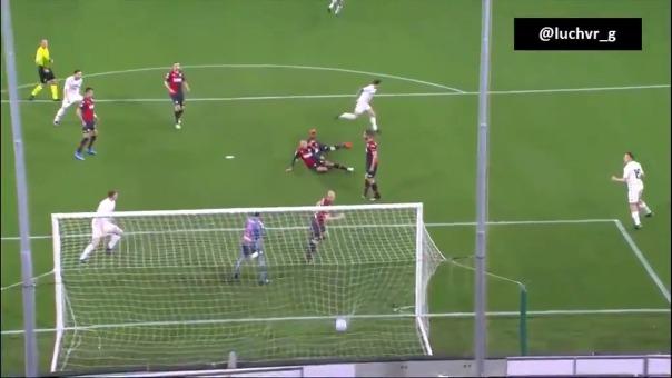 Este fue el golazo de Lapadula en el Benevento vs. Genoa.