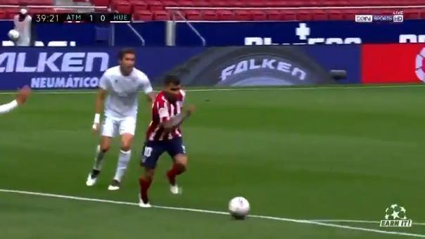 Ángel Correa anotó el 1-0 de Atlético ante Huesca