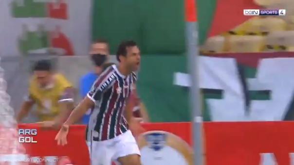 Fluminense empató a River Plate con el gol de Fred