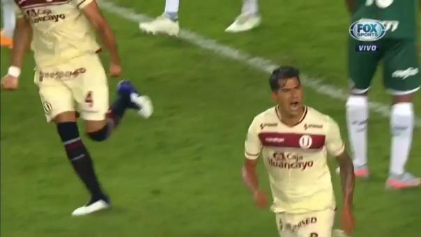 Enzo Gutiérrez marcó sus primeros goles con Universitario en la Libertadores