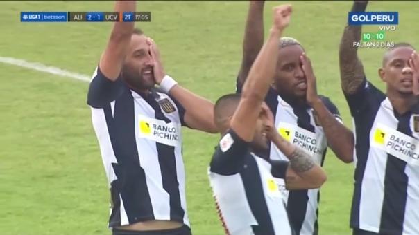 Así fue el gol de Hernán Barcos en el Alianza Lima vs. César Vallejo