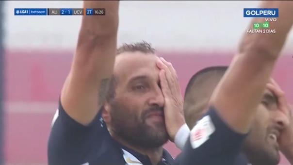 César Vallejo 1-2 Alianza Lima: así fue el gol de Hernán Barcos