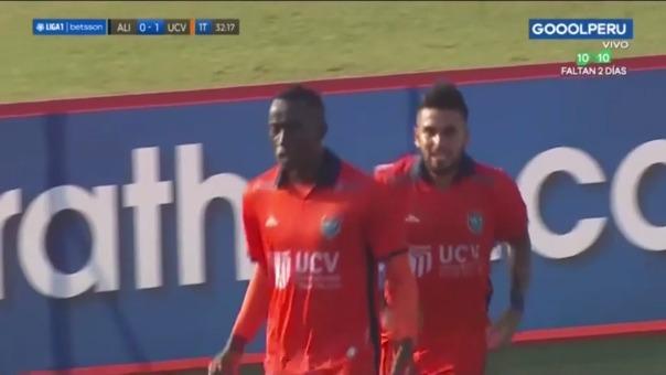 César Vallejo 1-0 Alianza Lima: así fue el gol de Mena