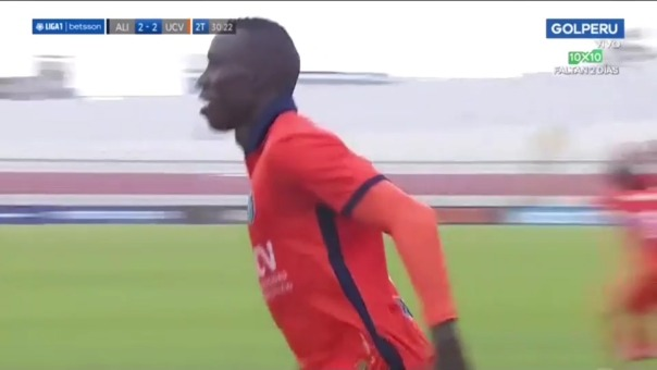 César Vallejo 2-2 Alianza Lima: así fue el segundo gol de Yorleys Mena