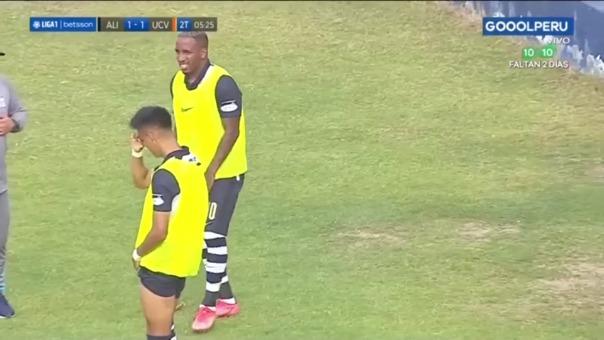 Alianza Lima vs. César Vallejo: así fue el gol de Ricardo Lagos