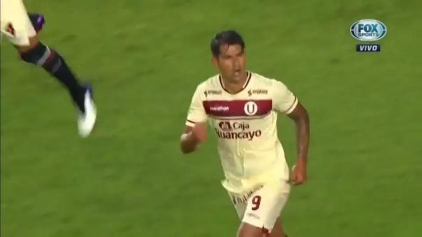 Enzo Gutiérrez anotó un doblete ante Palmeiras por la Libertadores