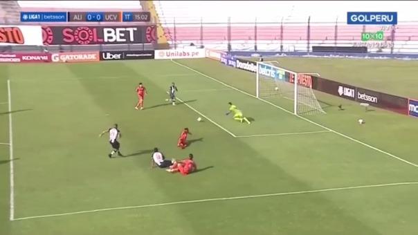 Wilmer Aguirre se perdió el 1-0 de Alianza Lima ante Vallejo
