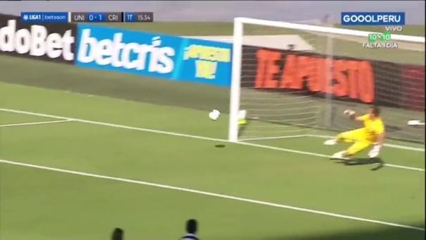 Universitario vs Sporting Cristal: así fue el gol de Alejandro Hohberg
