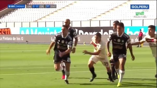 Sporting Cristal vs Universitario: Alejandro Hohberg anotó de penal