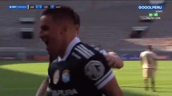 Así fue el gol de Alejandro Hohberg en el Universitario vs Sporting Cristal