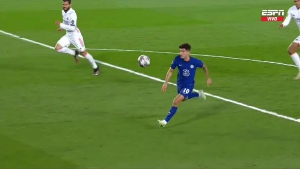 Real Madrid 1-1 Chelsea: así fue el gol de Pulisic