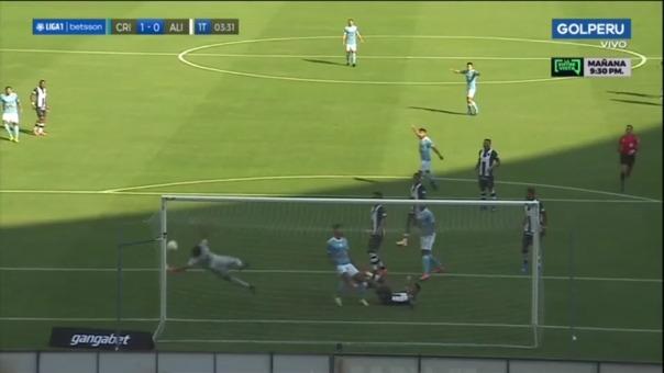 Sporting Cristal 1-0 Alianza Lima: así fue el gol de Alejandro Hohberg