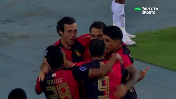 Melgar1-0 Paranaense: así fue el gol de Bordacahar