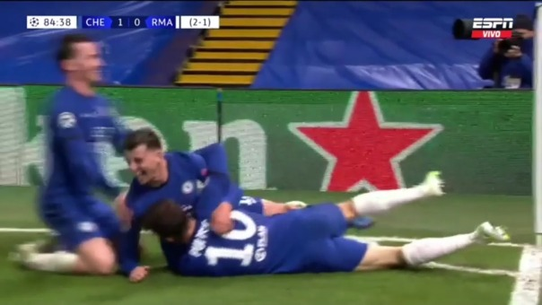 Chelsea 2-0 Real Madrid: así fue el gol de Mason Mount