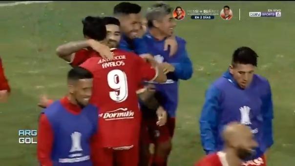 Gabriel Ávalos convirtió el 2-0 ante Atlético Nacional