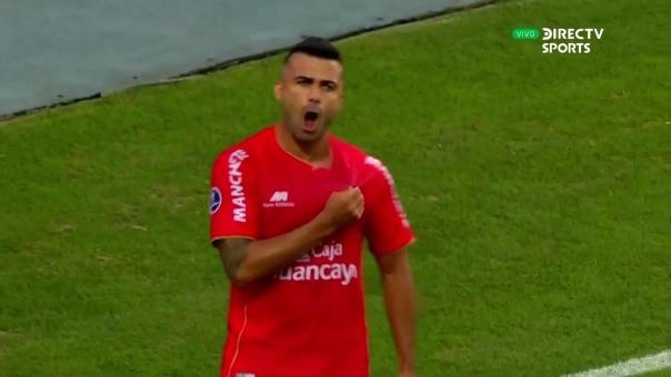 Liliu lleva dos goles en la Copa Sudamericana con Sport Huancayo