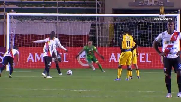 John Jairo Mosquera convirtió el 2-0 ante Táchira
