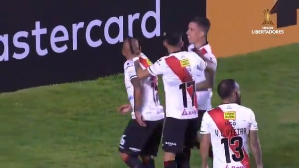 Marcos Ovejero anotó el 1-0 de Always ante Táchira