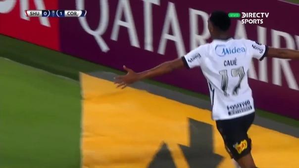Caué convirtió el 0-2 del 'Timao' ante Huancayo