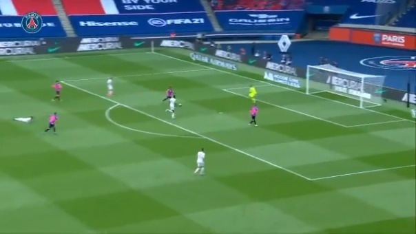 Gol de Neymar ante Lens por la Ligue 1