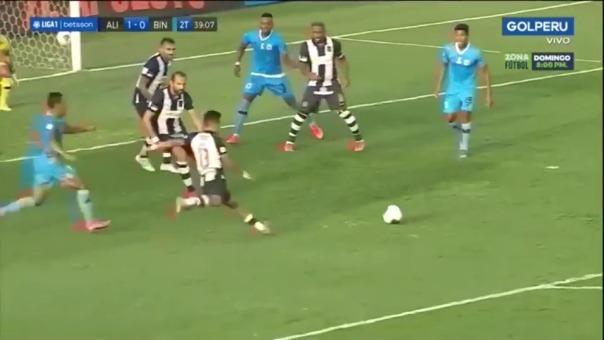 Gol de Ricardo Lagos.