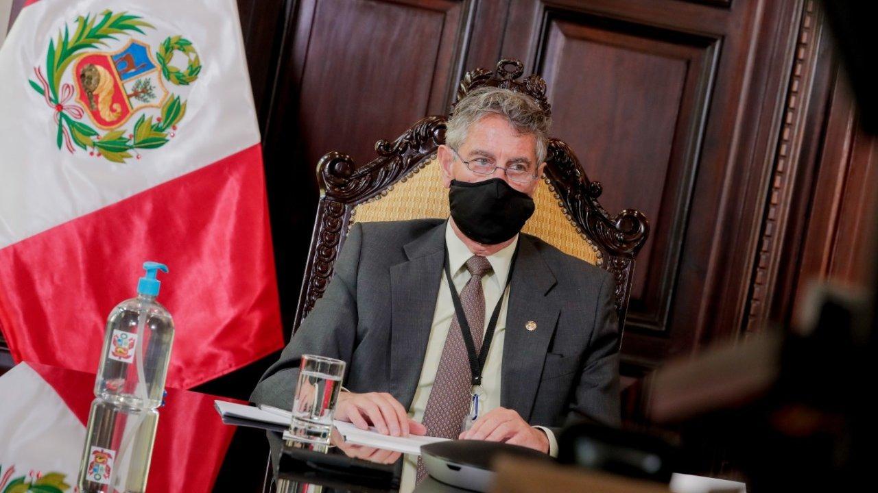 Presidente Sagasti se refirió a comentarios de congresistas.