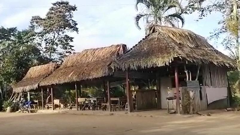 Treinte y ocho escolares de la comunidad nativa Alto San Pascual no tienen señal de internet y telefónica para acceder a sus clases virtuales.
