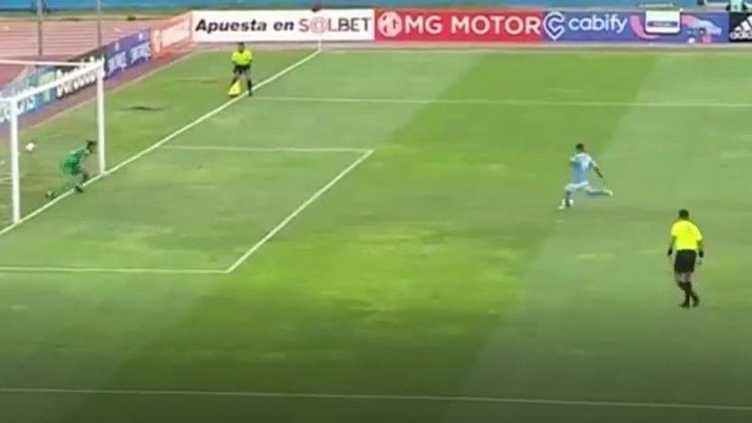 Así fue el gol de 'Canchita' Gonzales ante Cusco FC.